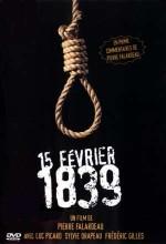 15 şubat 1839 (2001) afişi
