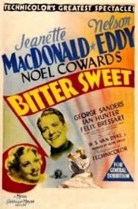 Bitter Sweet (1940) afişi