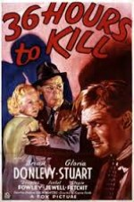 36 Hours to Kill (1936) afişi