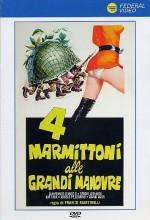 4 Marmittoni Alle Grandi Manovre (1974) afişi
