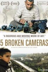 5 Kırık Kamera (2011) afişi