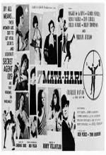 7 Mata-hari (1965) afişi