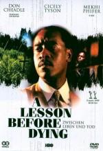 A Lesson Before Dying (1999) afişi
