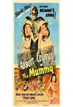 Abbott And Costello Meet The Mummy (1955) afişi