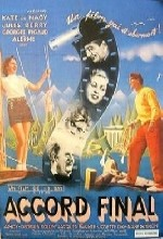 Accord Final (1938) afişi