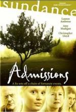Admissions (2004) afişi