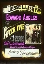 After Five (1915) afişi
