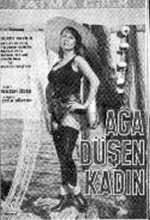 Ağa Düşen Kadın (1966) afişi