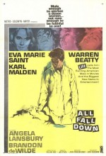 All Fall Down (1962) afişi