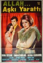 Allah Aşkı Yarattı (1969) afişi