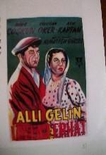 Allı Gelin(ı) (1957) afişi