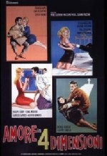 Amore In Quattro Dimensioni (1964) afişi