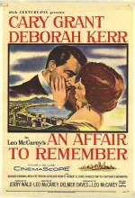 An Affair To Remember (1957) afişi