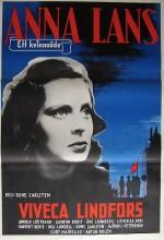 Anna Lans (1943) afişi