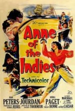 Anne Of The ındies (1951) afişi
