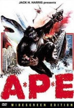 The King Ape (1976) afişi
