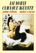 Así No Hay Cama Que Aguante (1980) afişi