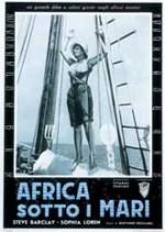 Africa sotto i mari (1953) afişi