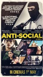 Anti-Social (2015) afişi