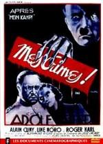 Après Mein Kampf mes crimes (1940) afişi