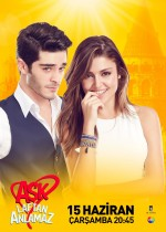 Aşk Laftan Anlamaz' (2016) afişi