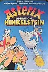 Astérix et le coup du menhir (1989) afişi