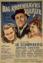 Bag Københavns Kulisser (1935) afişi