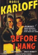 Before I Hang (1940) afişi