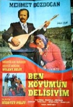 Ben Köyümün Delisiyim (1980) afişi