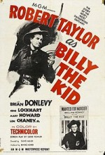 Billy The Kid (ı) (1941) afişi