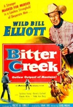 Bitter Creek (1954) afişi
