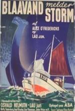 Blaavand Melder Storm (1938) afişi