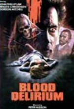 Blood Delirium (1988) afişi