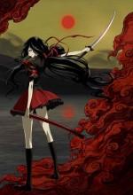 Blood-c (ı) (2012) afişi