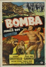 Bomba, The Jungle Boy (1949) afişi