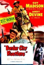 Border City Rustlers (1953) afişi