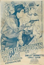 Bordertown Trail (1944) afişi