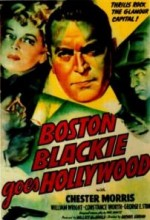 Boston Blackie Hollywood'a Gidiyor