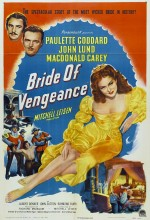 Bride Of Vengeance (1949) afişi