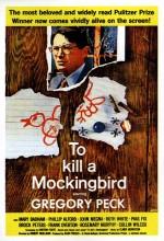 Bülbülü Öldürmek (1962) afişi