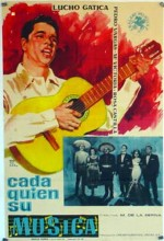 Cada Quién Su Música (1959) afişi