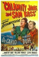 Calamity Jane Ve Sam Bass (ı) (1949) afişi