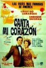 Canta Mi Corazón (1965) afişi