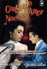 Cantando Nace El Amor (1954) afişi