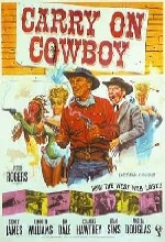 Carry On Cowboy (1965) afişi