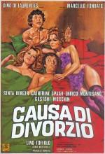 Causa Di Divorzio (1972) afişi