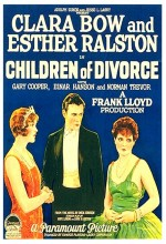 Children Of Divorce (1927) afişi