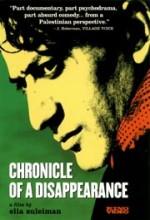 Chronicle Of A Disappearance (1996) afişi