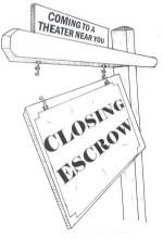 Closing Escrow (2007) afişi