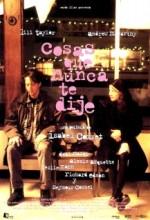 Cosas Que Nunca Te Dije (1996) afişi